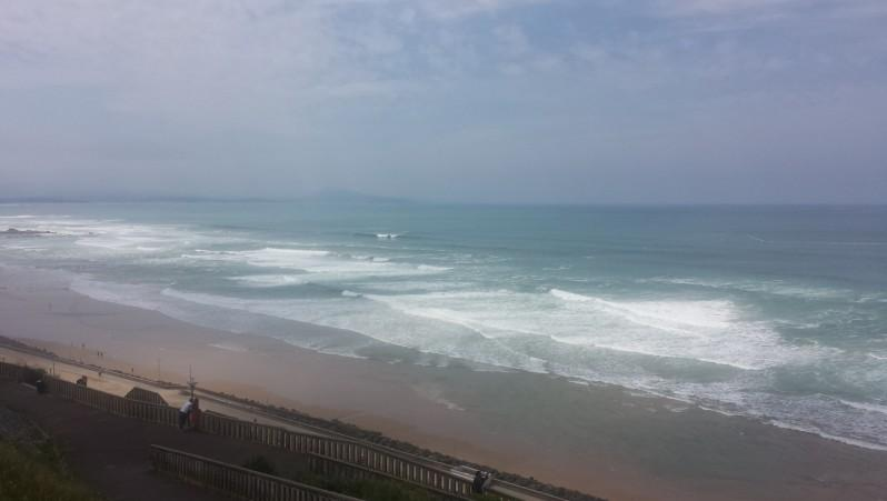 Surf report Côte des Basques - France (64) 2016-05-26 14:00:00