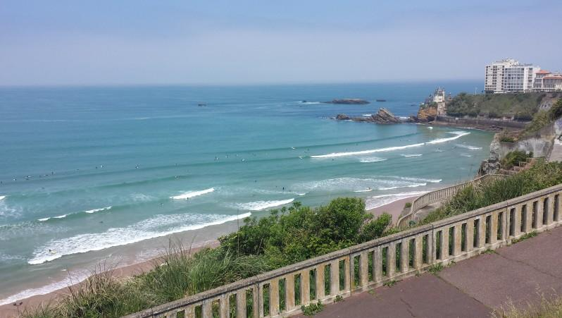 Surf report Côte des Basques - France (64) 2016-05-27 13:00:00