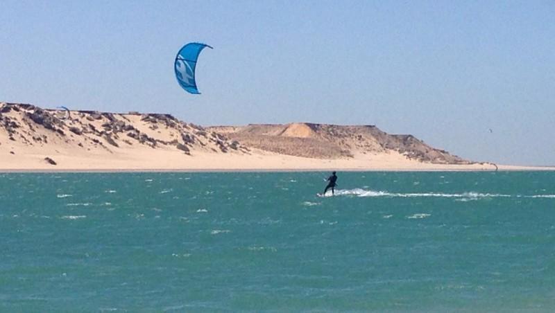 Wind report Dakhla - La Lagune - Maroc (MA) 2016-06-10 11:00:00