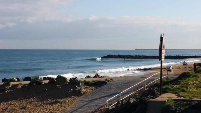 Surf report Anglet Sables d'Or - France (64) 2016-06-27 09:00:00