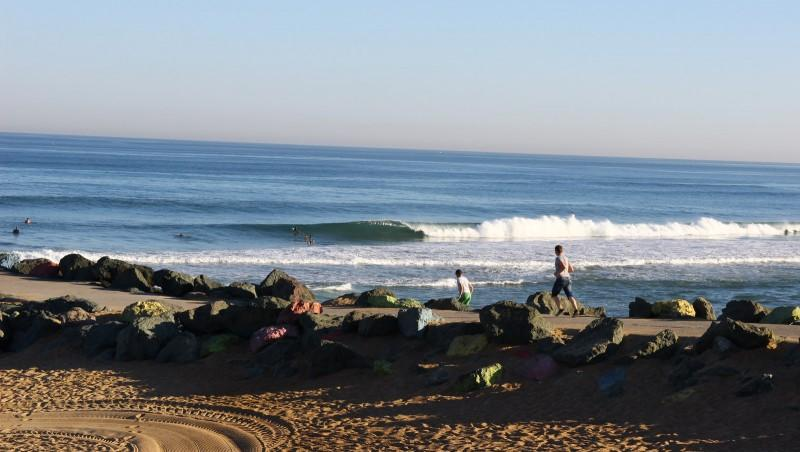 Surf report Anglet Sables d'Or - France (64) 2016-07-18 09:00:00