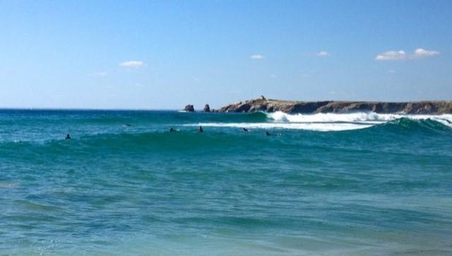 Surf report Quiberon - Port Bara - France (56) 2016-07-17 10:00:00