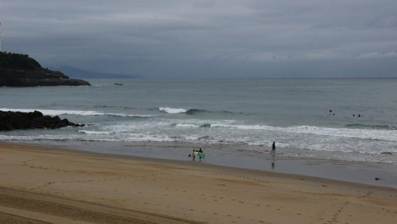 Surf report Anglet Surf Club - France (64) 2016-07-31 10:00:00
