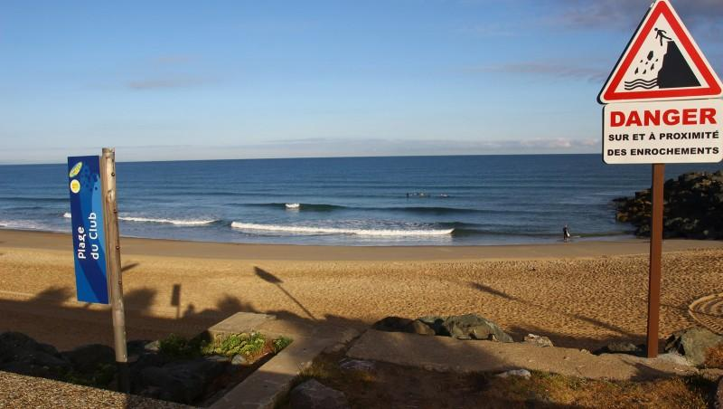 Surf report Anglet Surf Club - France (64) 2016-08-02 09:00:00
