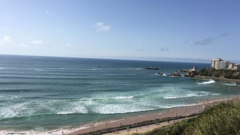Surf report Côte des Basques - France (64) 2016-08-08 16:00:00
