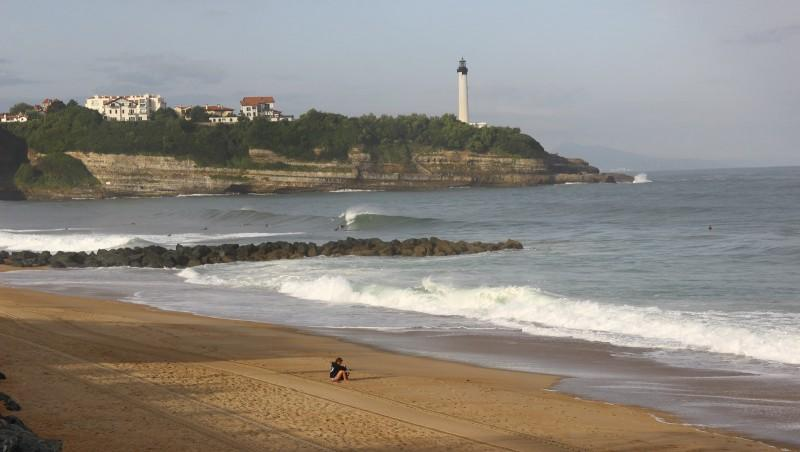 Surf report Anglet Surf Club - France (64) 2016-08-09 09:00:00