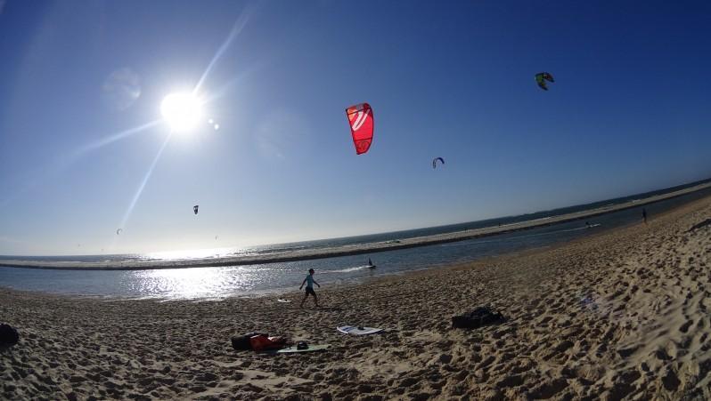 Wind report La Lagune - France (33) 2016-08-09 17:00:00