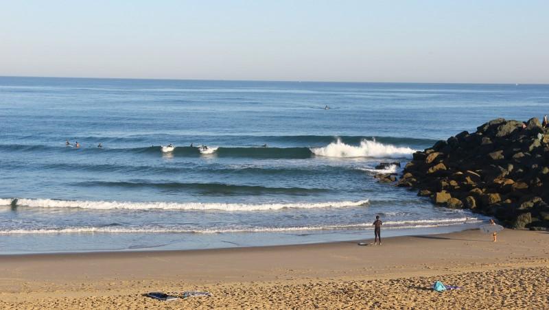 Surf report Anglet Sables d'Or - France (64) 2016-08-13 09:00:00