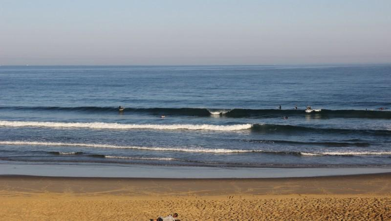Surf report Anglet Surf Club - France (64) 2016-08-14 10:00:00