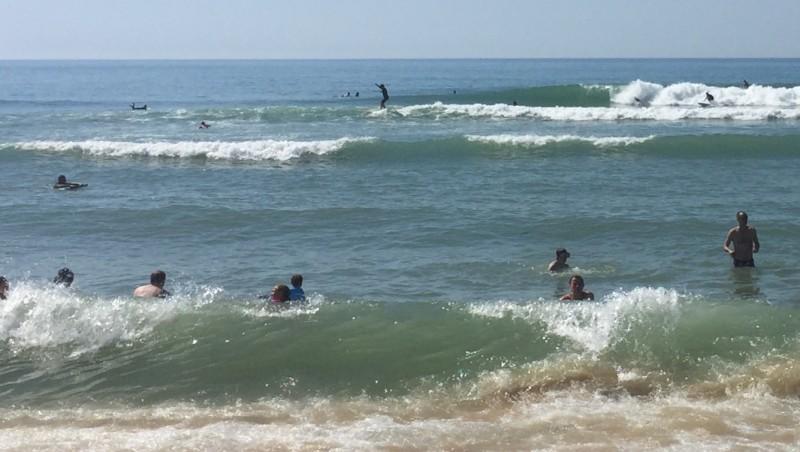 Surf report Le Porge - France (33) 2016-08-14 12:00:00