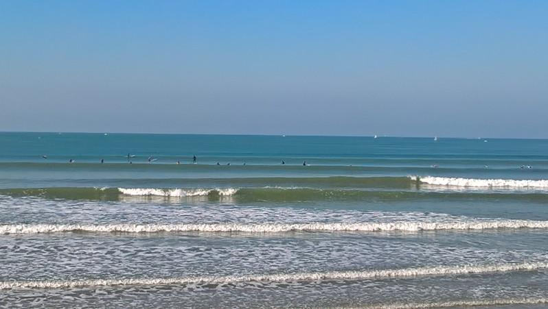 Surf report St Gilles-Croix-de-Vie - France (85) 2016-10-08 11:00:00