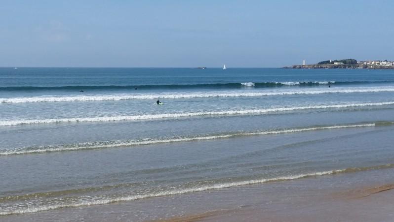 Surf report St Gilles-Croix-de-Vie - France (85) 2016-10-10 16:00:00