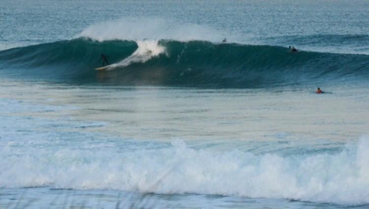Surf report Longchamp - France (35) 2016-10-10 20:00:00