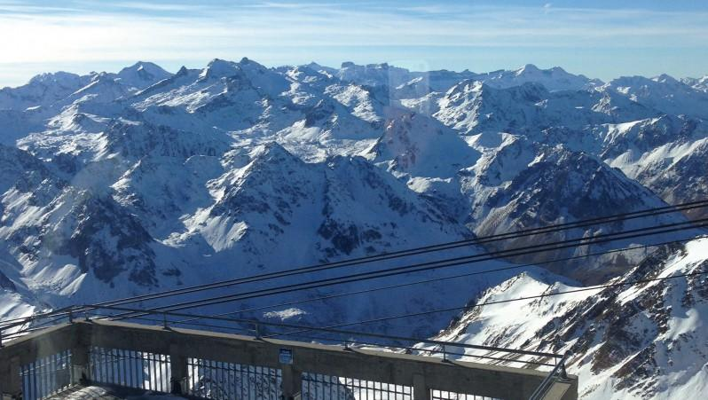 Snow report Grand Tourmalet - Campan Payolle - France (65) 2016-12-12 12:00:00