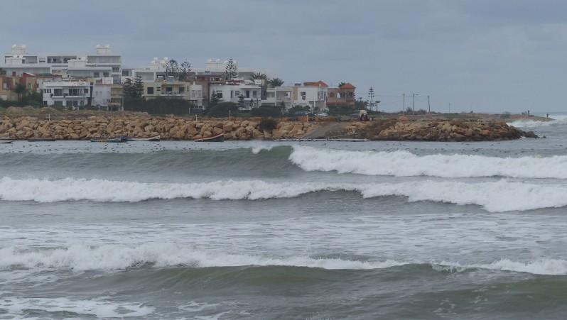 wave report Petit Port Dar Bouazza - Maroc (MA) 2016-12-15 15:00:00