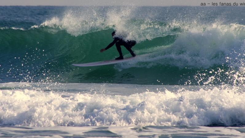 Surf report Canet Sud - Pont des Basses - France (66) 2016-12-18 15:00:00