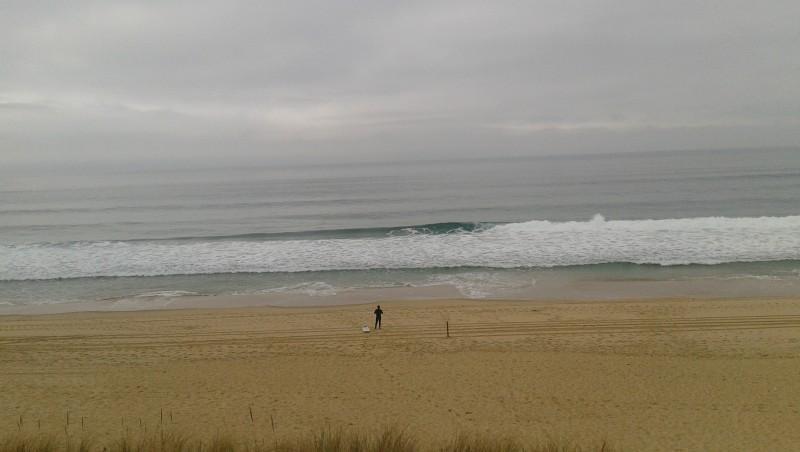 Surf report Le Truc vert - France (33) 2017-01-08 13:00:00