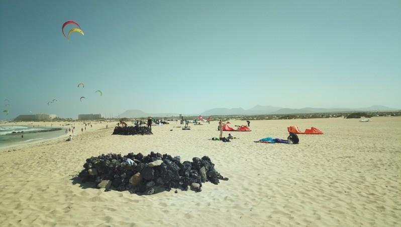 Wind report Flag Beach - Fuerteventura - Espagne (ES) 2017-04-04 16:00:00