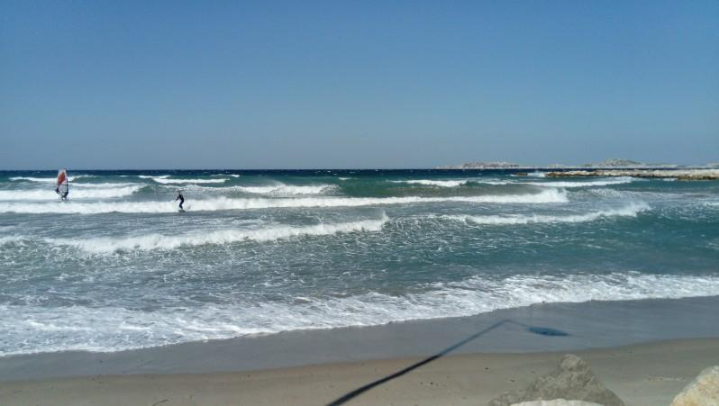 Surf report Plage Prado Nord - France (13) 2017-04-28 11:00:00