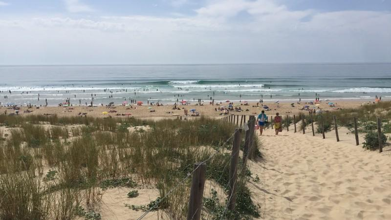 Surf report Le Grand Crohot - France (33) 2017-05-28 17:00:00