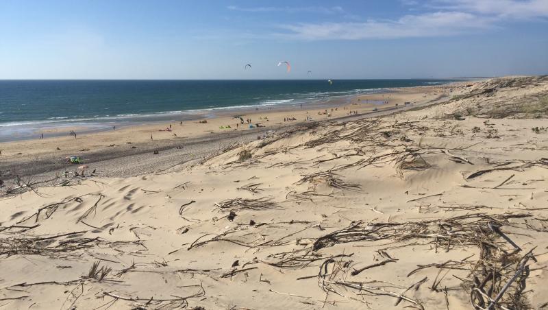 wind report Biscarrosse Plage - France (40) 2017-07-15 18:00:00