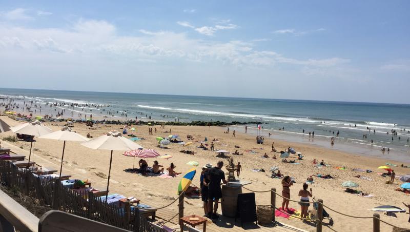 Surf report Lacanau Océan - La Centrale - France (33) 2017-07-17 15:00:00
