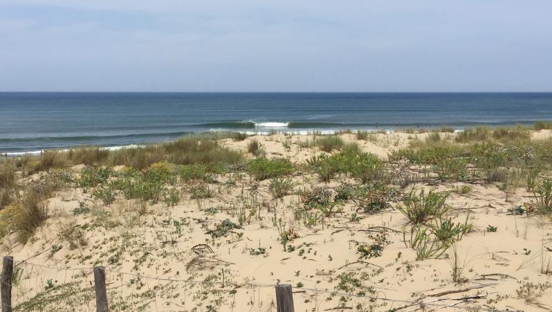 wave report FR, Le Grand Crohot (33) posté par axel