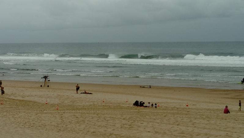 Surf report Vieux Boucau - France (40) 2017-08-05 10:00:00