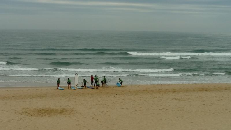 Surf report Vieux Boucau - France (40) 2017-08-07 09:00:00