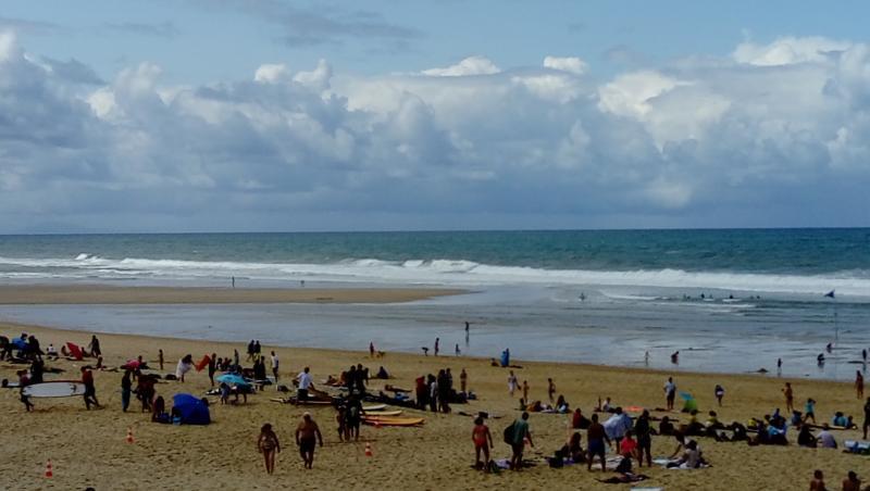 Surf report Vieux Boucau - France (40) 2017-08-08 12:00:00