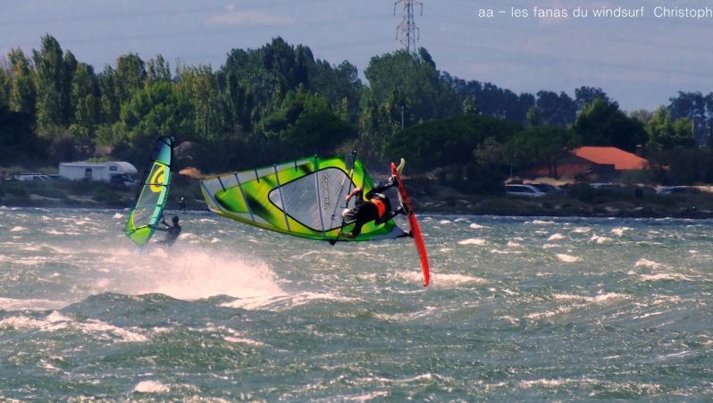Wind report Le Barcarès - Cap Coudalère  - France (66) 2017-08-10 17:00:00