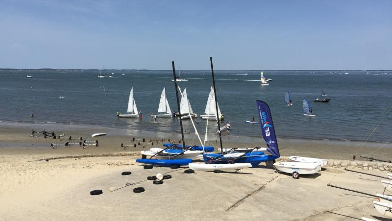 Wind report Arcachon - Le Port - France (33) 2017-08-14 15:00:00