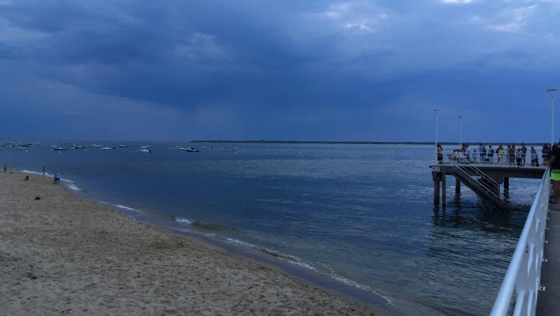 Wind report Arcachon - Le Moulleau - France (33) 2017-08-14 20:00:00