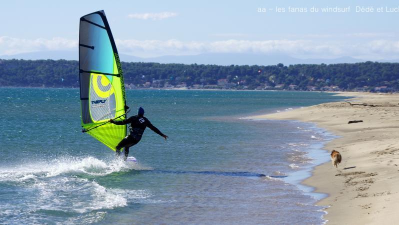 Wind report Leucate - Les Coussoules - France (11) 2017-09-26 16:00:00