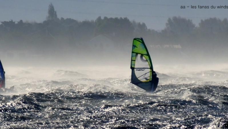 Wind report Le Barcarès - Cap Coudalère  - France (66) 2017-11-06 17:00:00