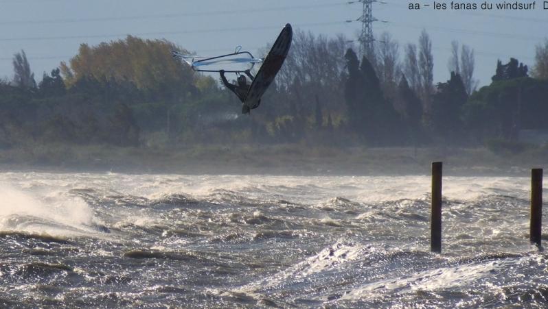 Wind report Le Barcarès - Cap Coudalère  - France (66) 2017-11-14 16:00:00