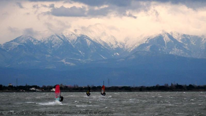 Wind report Le Barcarès - Cap Coudalère  - France (66) 2017-12-01 17:00:00