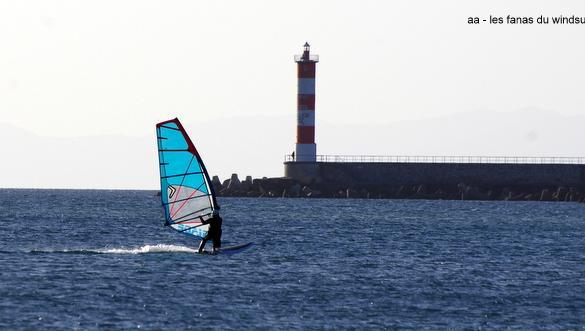 Wind report Port-la-Nouvelle - Plage Nord - France (11) 2018-01-01 15:00:00