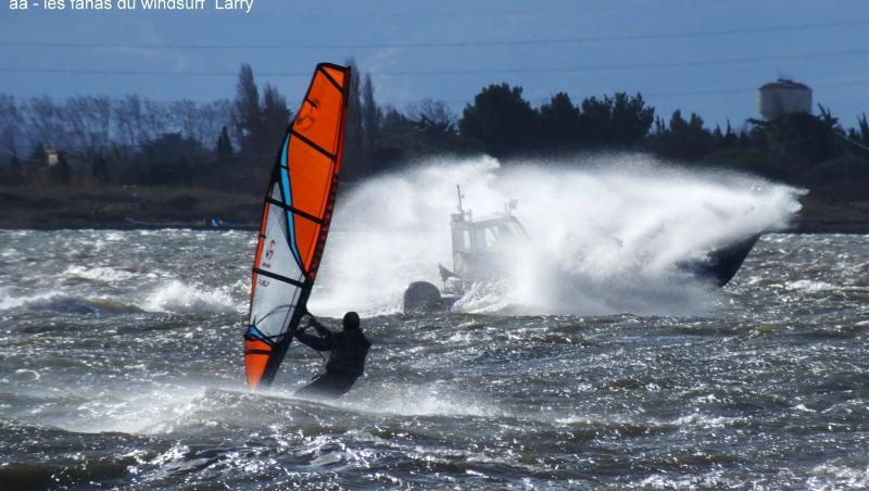 Wind report Le Barcarès - Cap Coudalère  - France (66) 2018-01-12 17:00:00