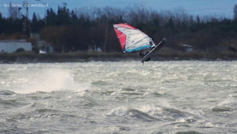 Wind report Le Barcarès - Cap Coudalère  - France (66) 2018-01-16 16:00:00