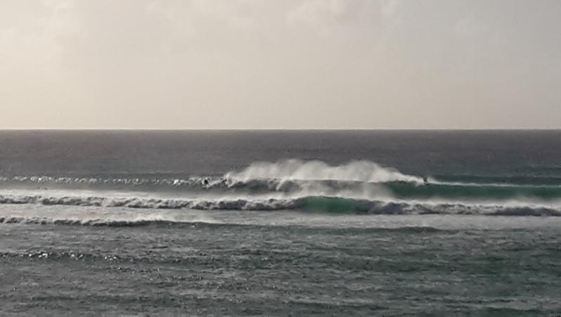Surf report Port Louis - Guadeloupe (GP) 2018-01-28 16:00:00