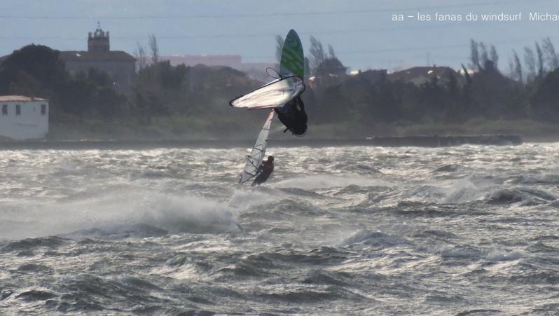 Wind report Le Barcarès - Cap Coudalère  - France (66) 2018-02-20 18:00:00