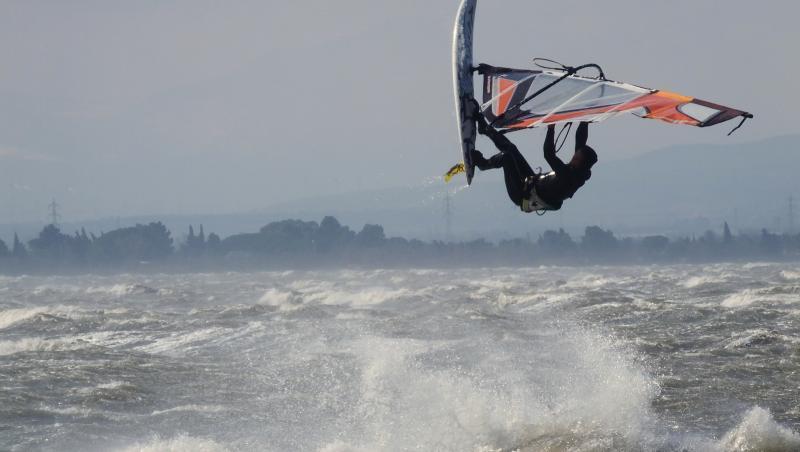 Wind report Le Barcarès - Cap Coudalère  - France (66) 2018-03-20 17:00:00