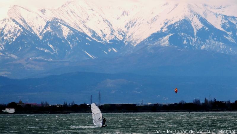 wind report Le Barcarès - Cap Coudalère  - France (66) 2018-03-27 19:00:00