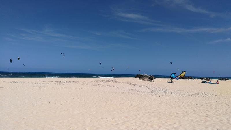 Wind report Flag Beach - Fuerteventura - Espagne (ES) 2018-05-02 15:00:00