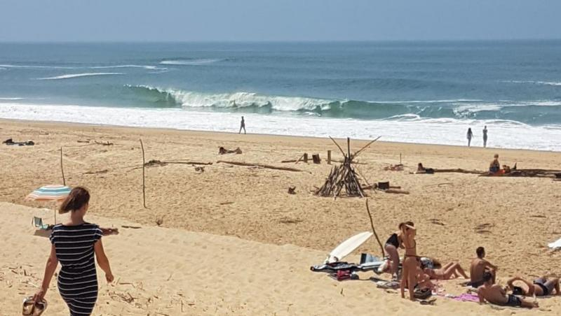 wave report Hossegor - La Gravière - France (40) 2018-06-20 14:00:00