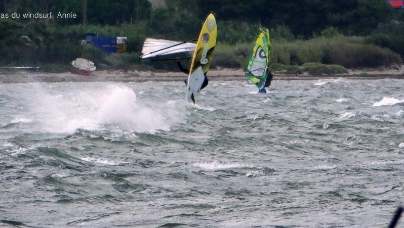 Wind report Le Barcarès - Cap Coudalère  - France (66) 2018-07-16 18:00:00