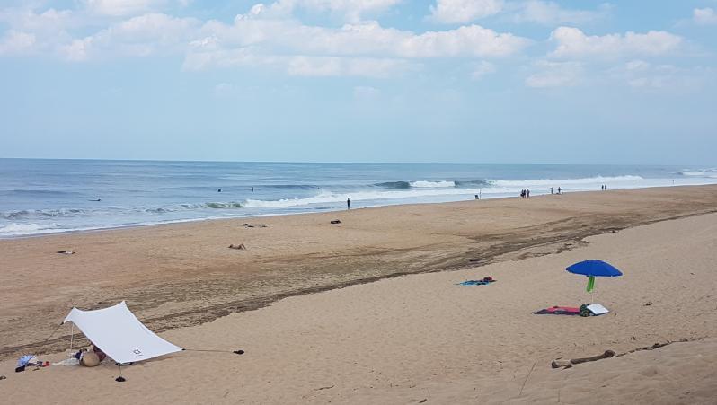 Surf report Hossegor - La Gravière - France (40) 2018-07-18 12:00:00
