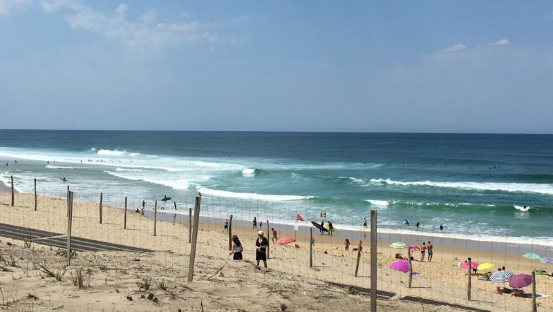 Surf report Biscarrosse Plage - France (40) 2018-07-18 12:00:00