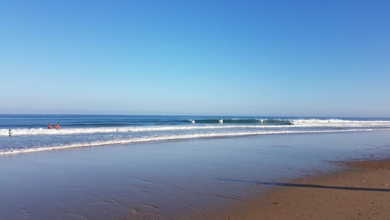 Surf report Hossegor - La Gravière - France (40) 2018-07-23 08:00:00
